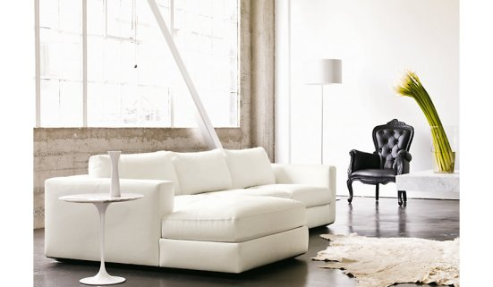 Reid Sectional - Design Within Reach (Ultrasuede upholstery)