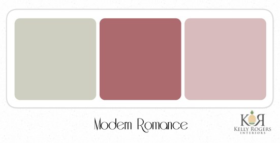 Modern Romance soothing bedroom color scheme | Kelly Rogers Interiors