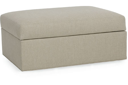 CR Laine Oliver Storage Bench Ottoman - 10 High-Style Storage Ottomans | Interiors For Families