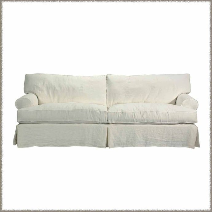 Slipcovered Sofa - Brand New