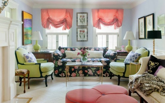 Liz Caan's Living Room | via Interiors For Families