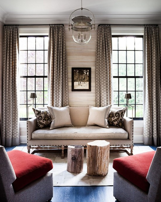 Why I Love a Tightback Sofa | Interiors For Families | designer: Thom Filicia