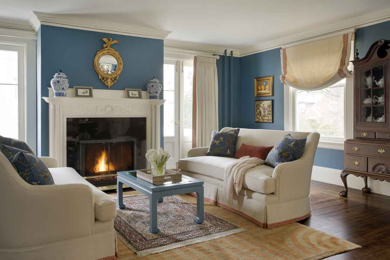 Formal And Family Friendly Living Room | Kelly Rogers Interiors | Via  Interiors For Families