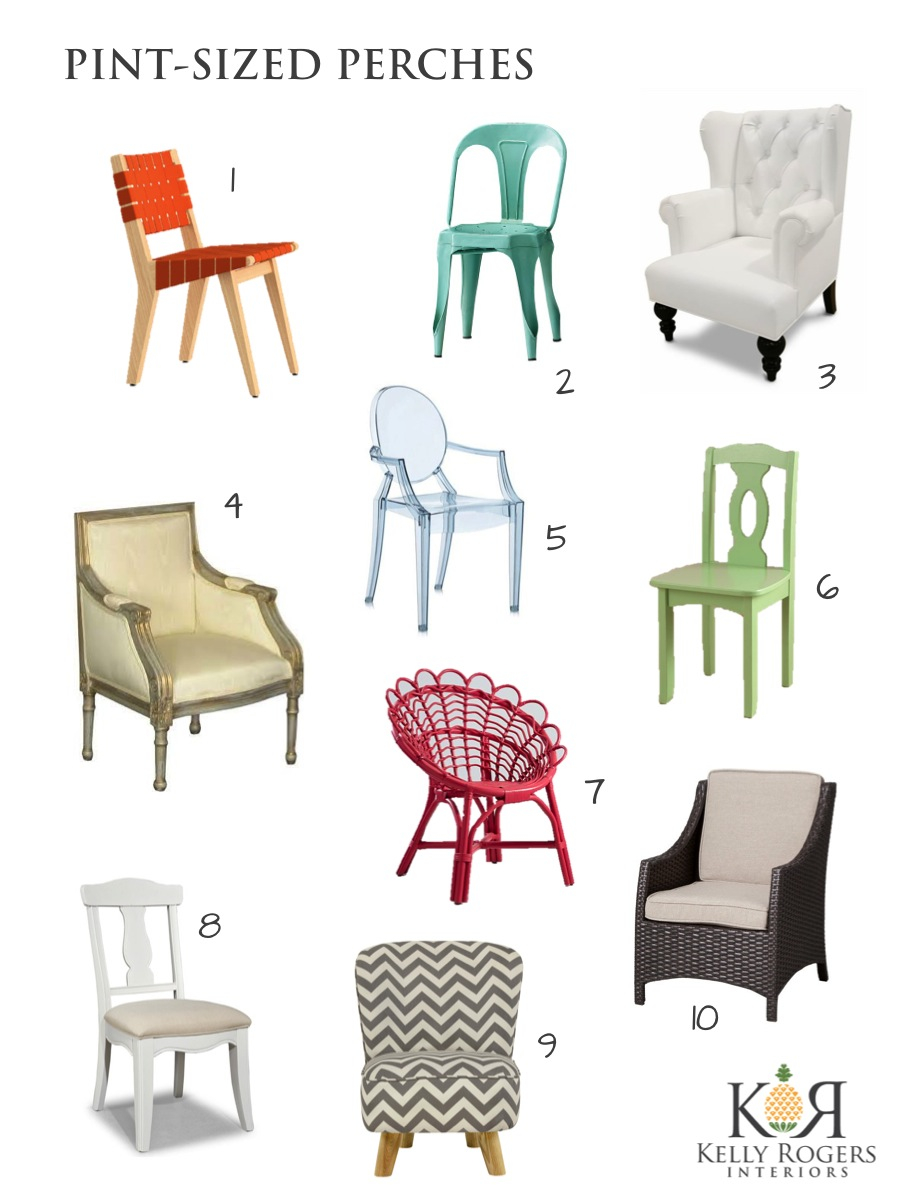 10 Chairs for Kids | Interiors for Families | Kelly Rogers Interiors
