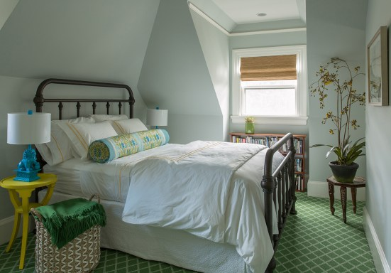 Room Reveal: My Colorful, Light + Airy Guest Suite | Interiors for Families | Kelly Rogers Interiors