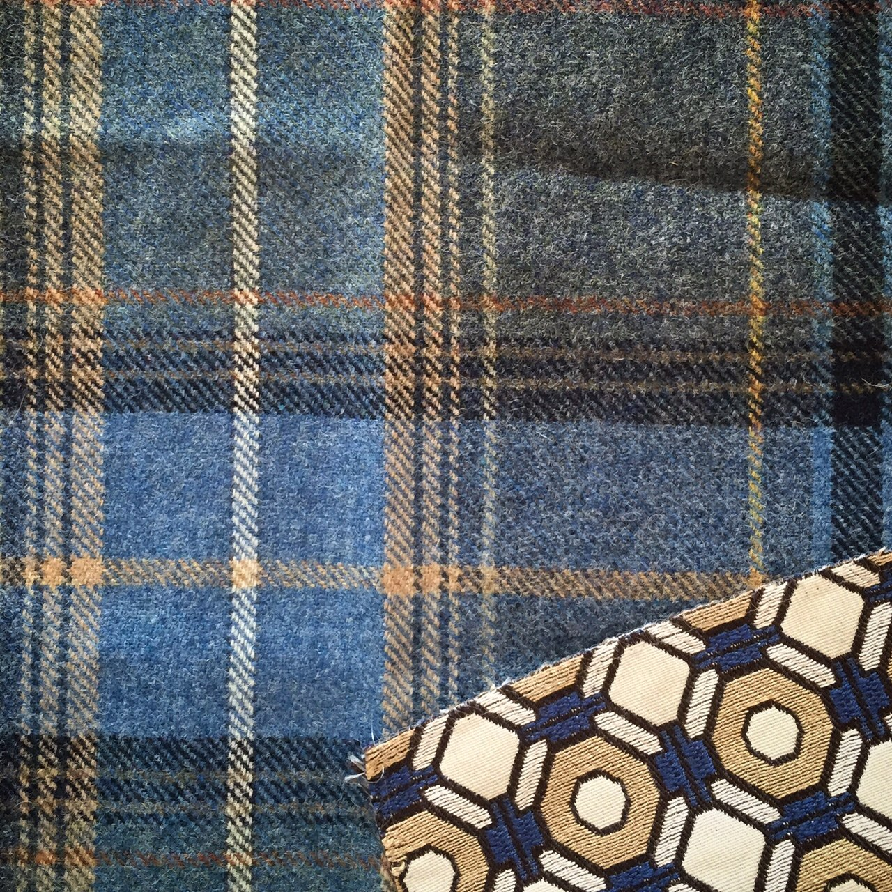 One Room Challenge Fall 2015, Week 2 - Fabrics | Kelly Rogers Interiors | Interiors for Families