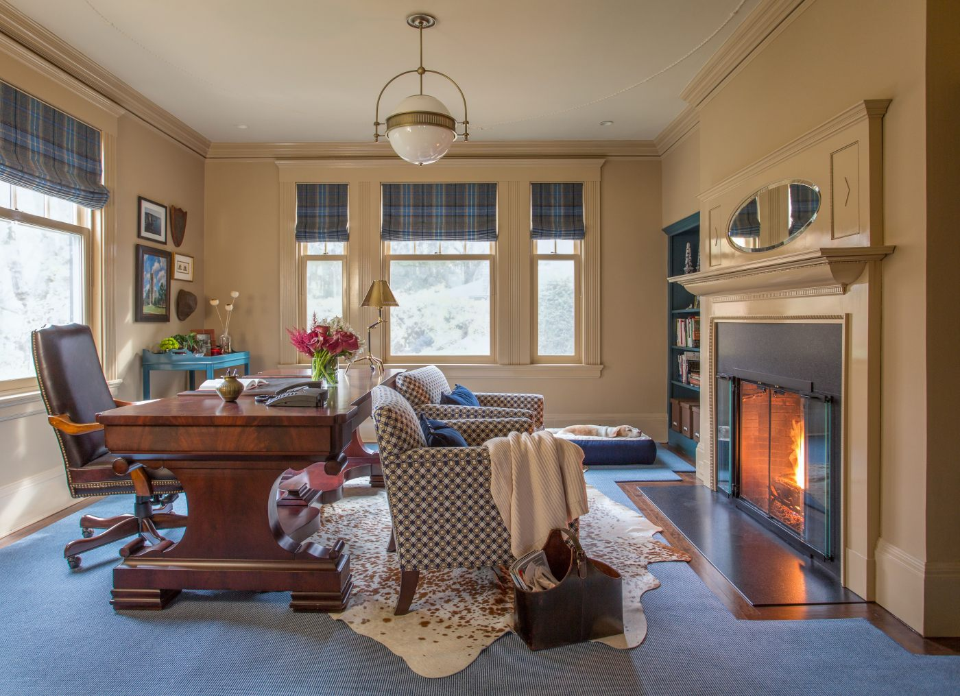 One Room Challenge Fall 2015 Manbrary Reveal | Kelly Rogers Interiors | Interiors for Families