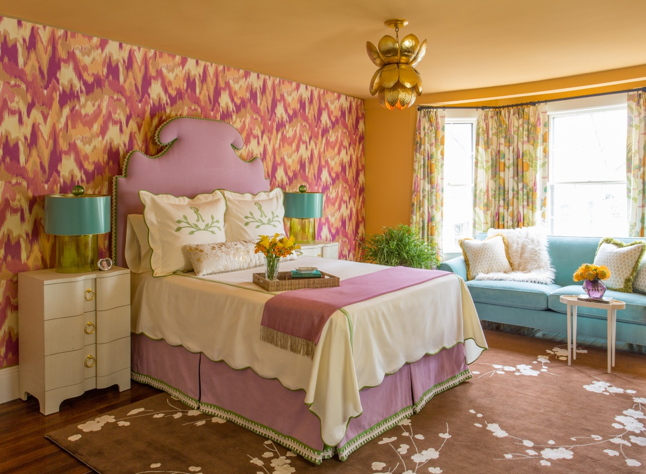 Kelly Rogers Interiors   Junior League of Boston 2016 Show House Mother-in-Law Bedroom