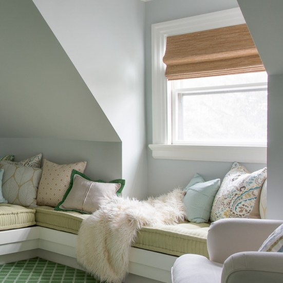 National Window Covering Safety Month | Horizons Cordless Woven Shades | Interiors for Families | Kelly Rogers Interiors