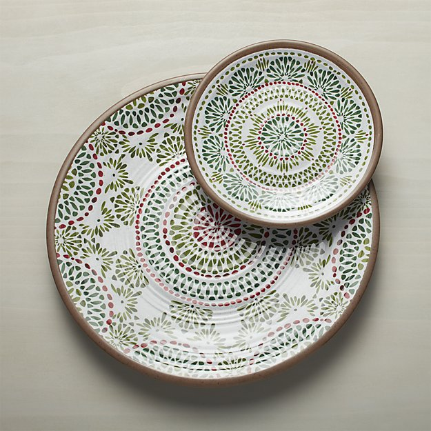 Crate \u0026 Barrel Caprice Holiday Melamine Collection | Friday Family-Friendly Find | Interiors for & Friday Family-Friendly Find: Crate \u0026 Barrel Caprice Holiday Melamine ...