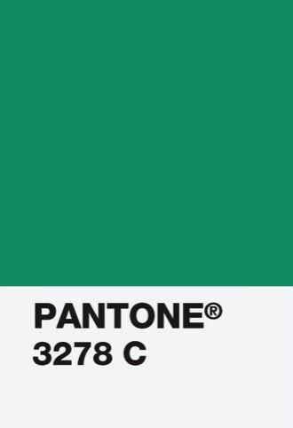 """Pantone 2013 Color of the Year """"Emerald"""" 