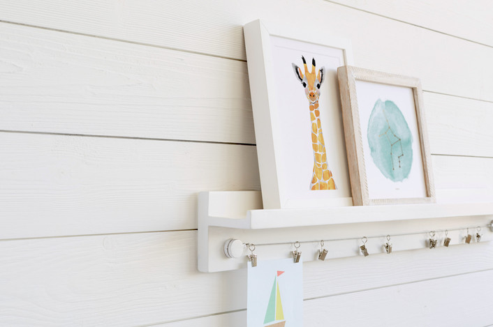 Minted Little Artist Shelf   Friday Family-Friendly Find   Kelly Rogers Interiors