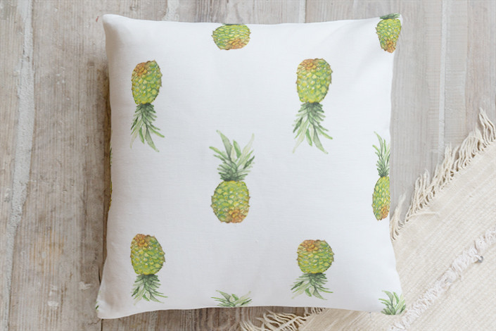 Minted Bay Breeze Pillow | Interiors for Families