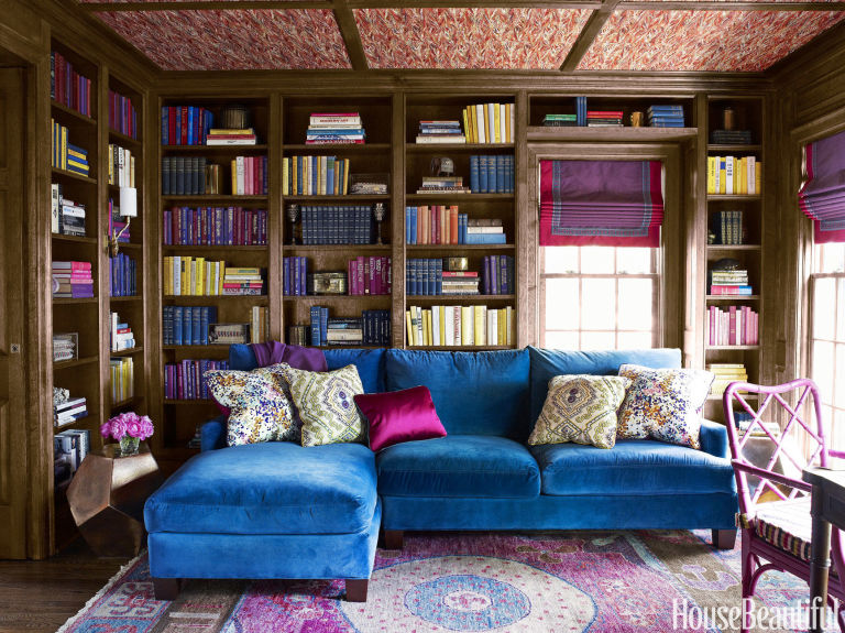 11 Ways with a Wallpapered Ceiling   Interiors for Families