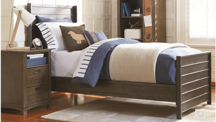 Friday Family-Friendly Find: SmartStuff Varsity Nightstand   Interiors for Families