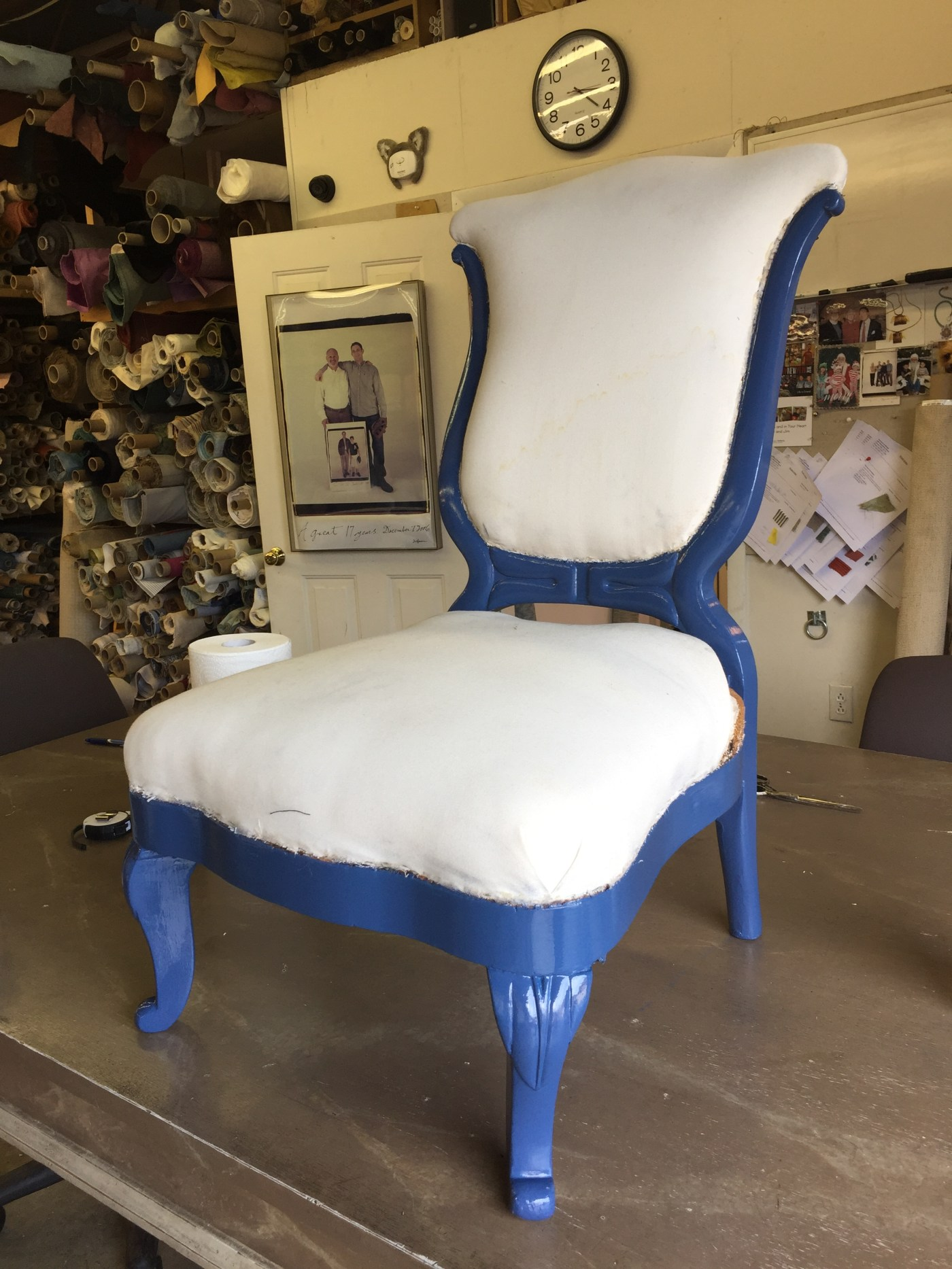"""Before & After: """"The Yes Chair"""" for IFDA Take a Seat 