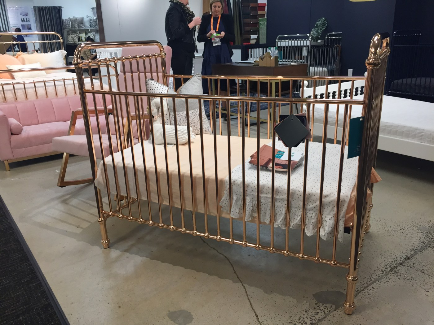 Friday Family-Friendly Find: Incy Metal Cribs   Interiors for Families