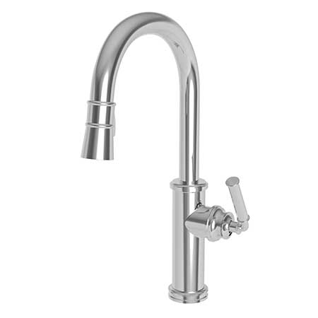 Friday Family-Friendly Find: Julien SocialCorner Sink & Newport Brass Taft Pull-Down Faucet | Interiors for Families