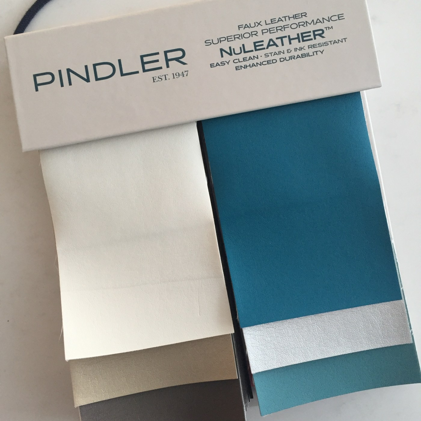Friday Family-Friendly Find: Pindler NuLeather   Kelly Rogers Interiors   Interiors for Families