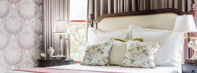 Room Reveal: Fresh Victorian Master Bedroom | Kelly Rogers Interiors | Interiors for Families