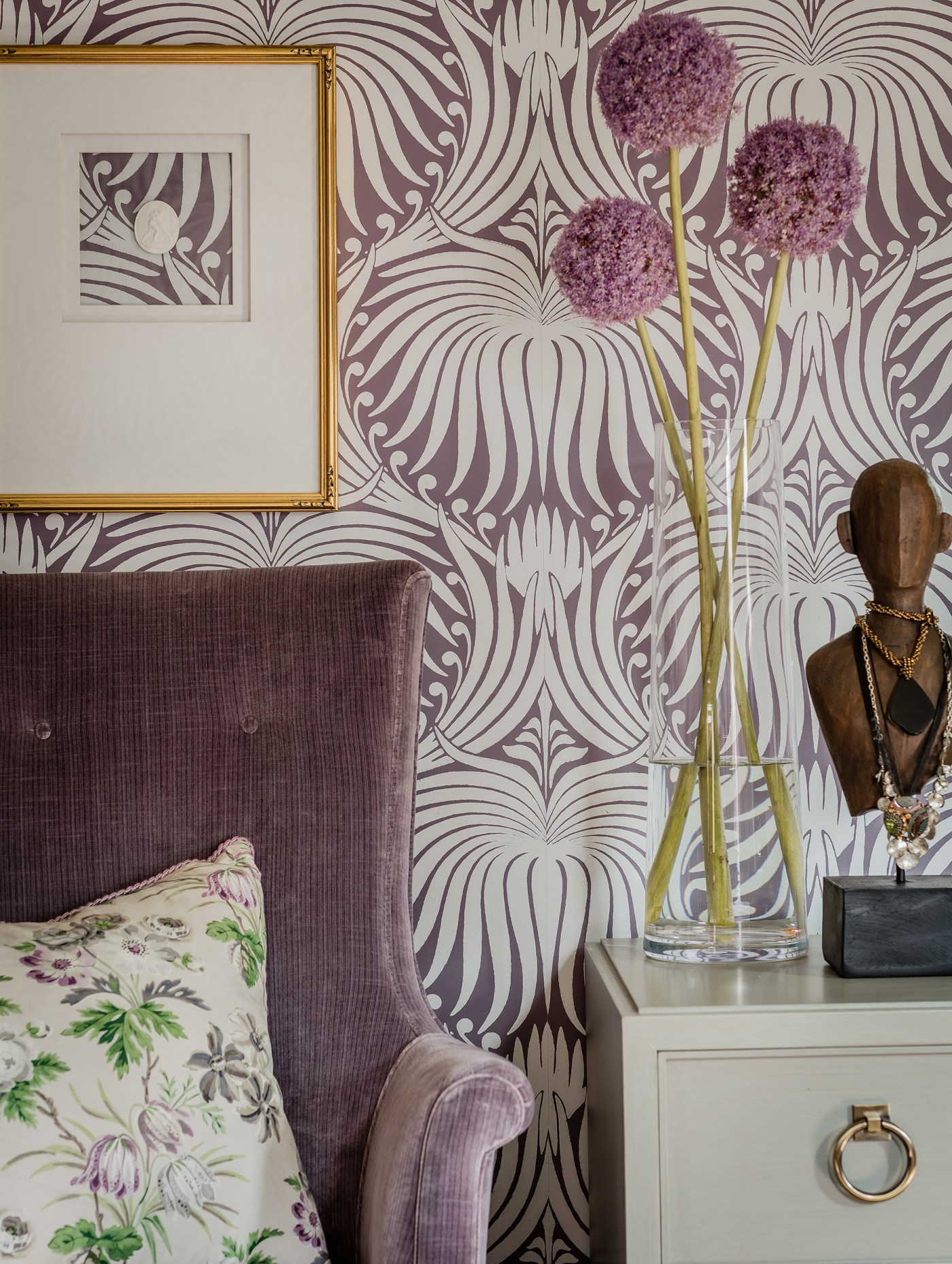 Room Reveal: Fresh Victorian Master Bedroom   Kelly Rogers Interiors   Interiors for Families