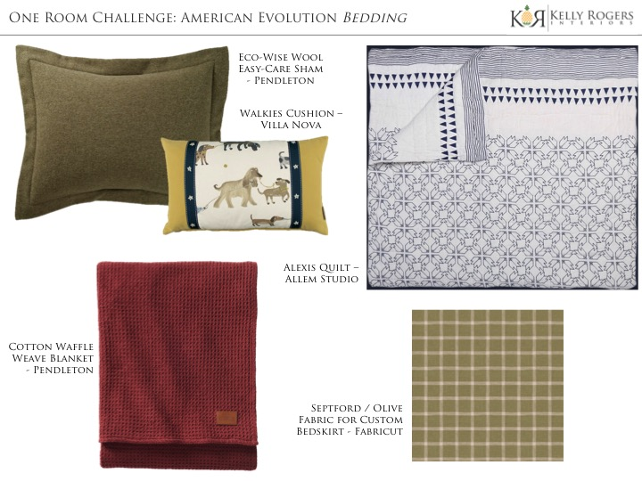 One Room Challenge Week 4: American Evolution | Kelly Rogers Interiors