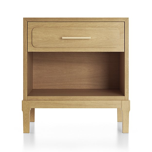 Friday Family-Friendly Find: Crate & Kids Larkin Nightstand (Plus 5 Tips on Shopping for Kids' Nightstands) | Interiors for Families | Blog of Kelly Rogers Interiors