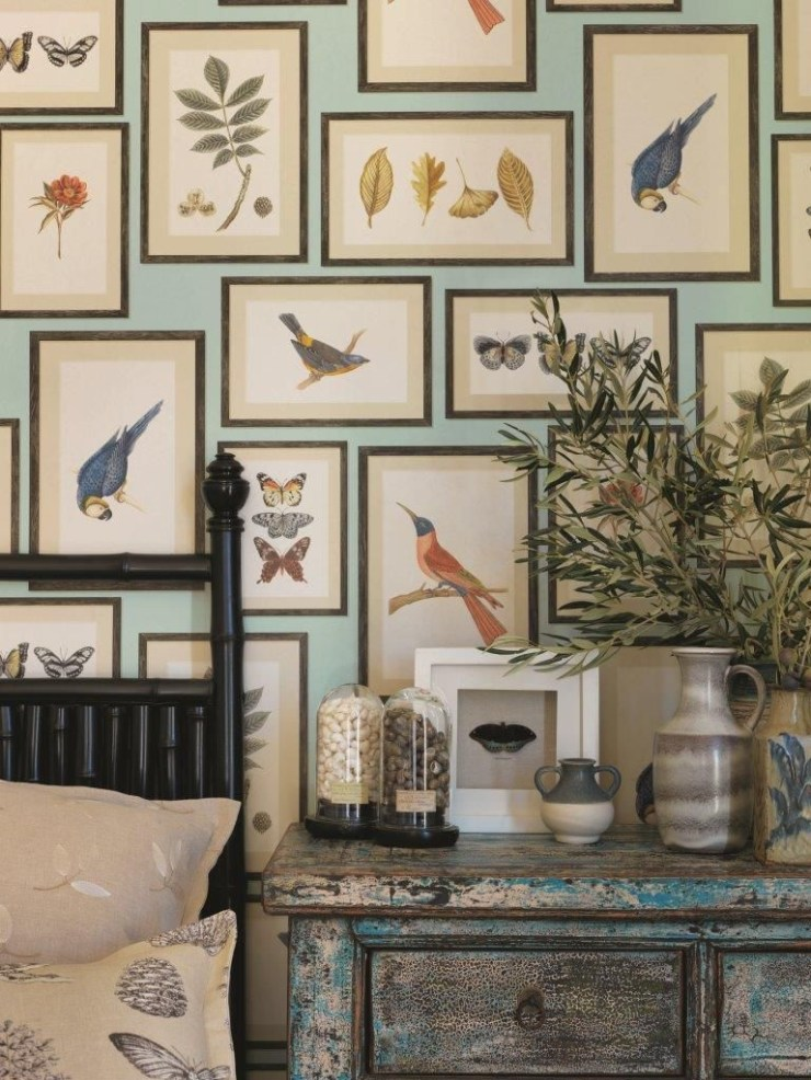 InstaDecor: Art Gallery Wallpapers | Interiors for Families | Blog of Kelly Rogers Interiors