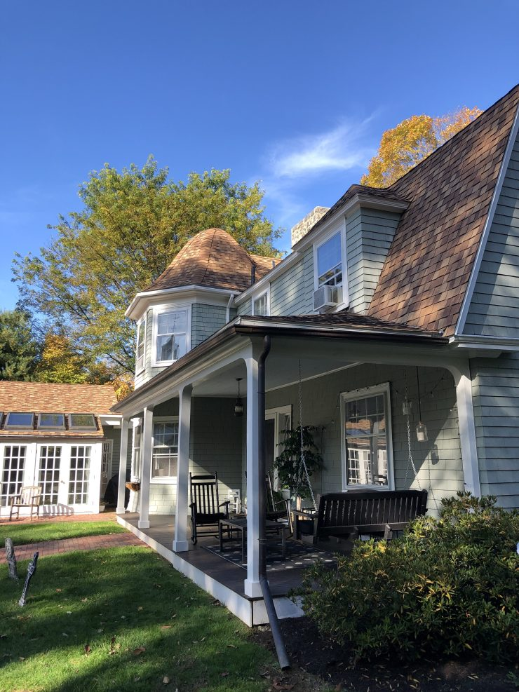 Before & After: A Subtle Change Makes a Big Impact on a Historic Home Exterior Transformation | Interiors for Families | Blog of Kelly Rogers Interiors