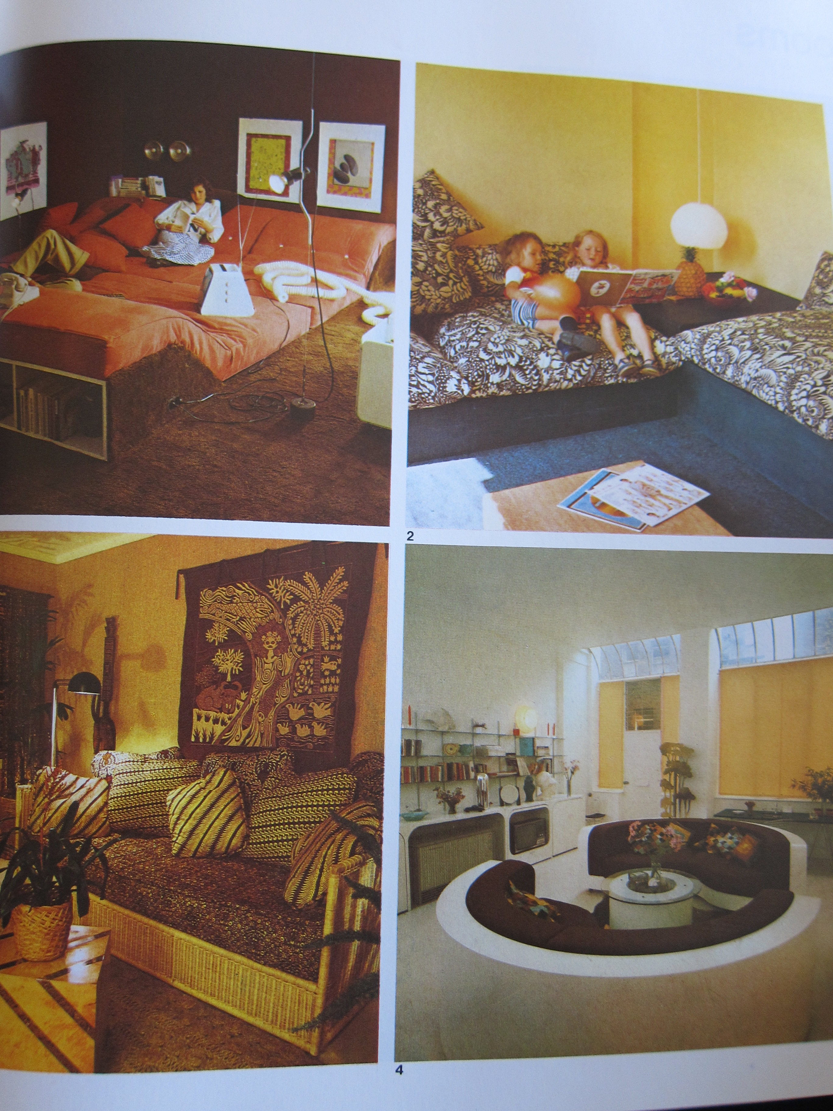 Interior Design Time Warp 1  The 1970s  Interiors for