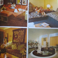 Camouflage Living Room Furniture Canvas Artwork For Interior Design Time Warp #1 – The 1970s Interiors ...