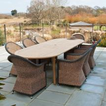 Outdoor Commercial Tables and Chairs