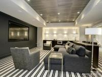 Contemporary home theater room furniture