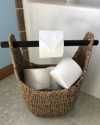50 Best DIY Toilet Paper Holder Ideas and Designs Youll ...