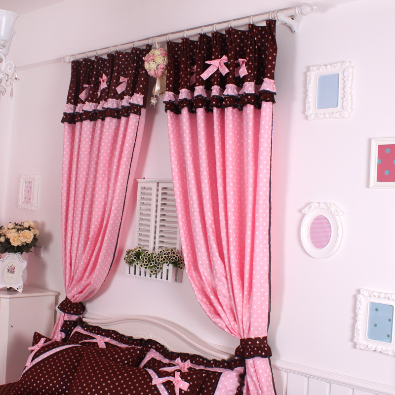 Hot Pink Curtains For Girls Room