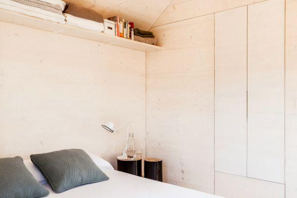 Miegamasis mažos mobiliosios namo
