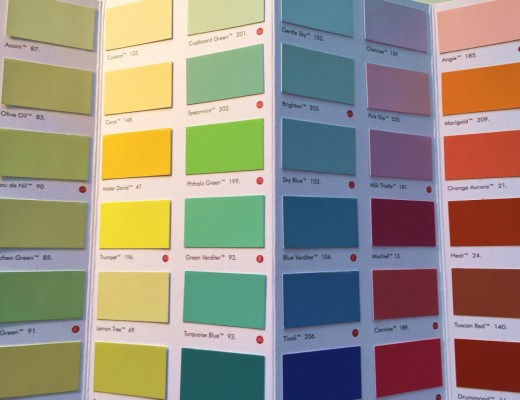 How to select colours like an Interior Designer