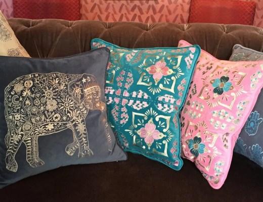 Elizabeth Scarlett A:W 2015 Cushion Collection