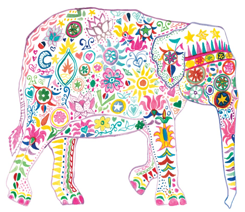 Original Elephant artwork