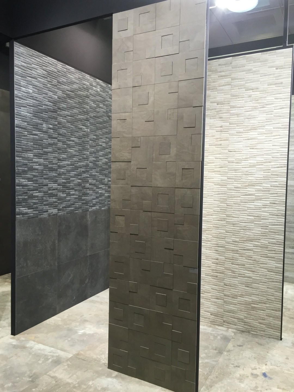 Hard materials interior design