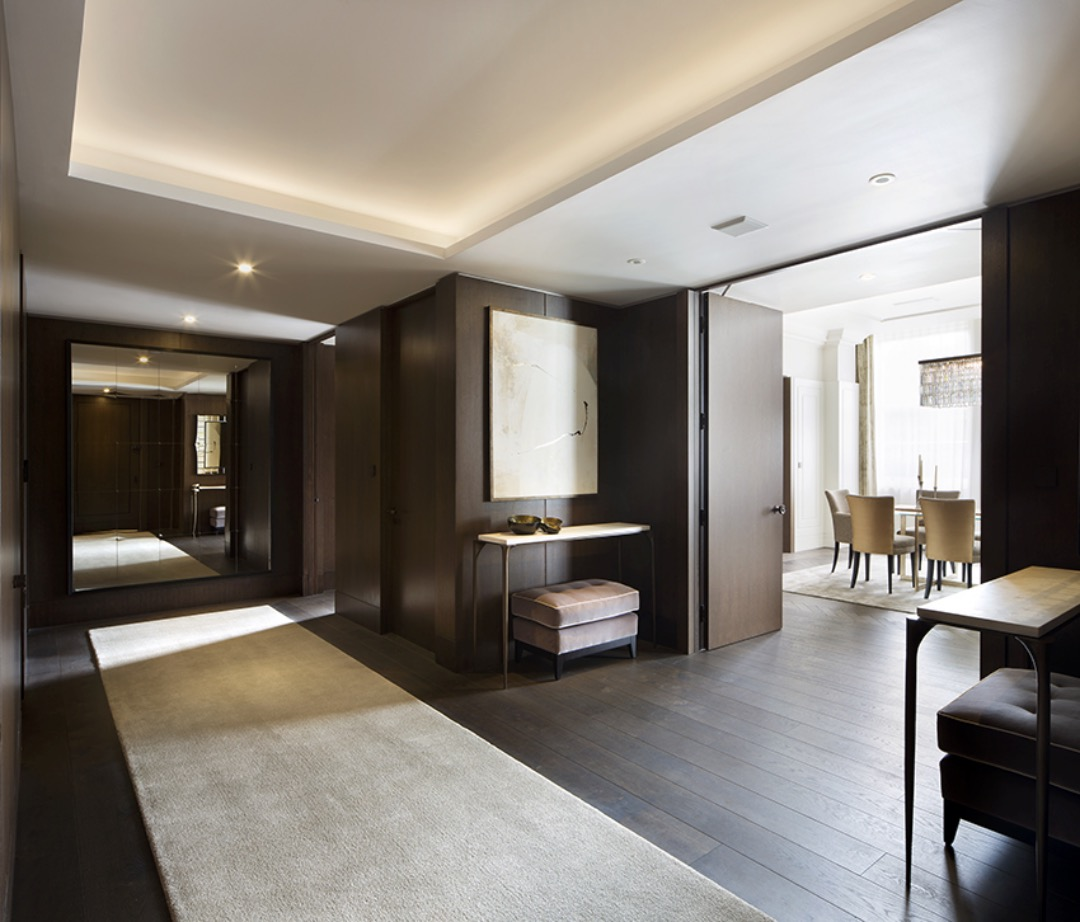 Tour of a georgian apartment in mayfair designed by 1508 for London interiors