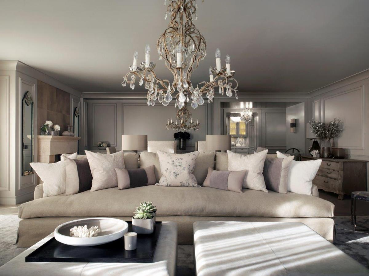 A luxury swiss chalet designed by Kelly Hoppen