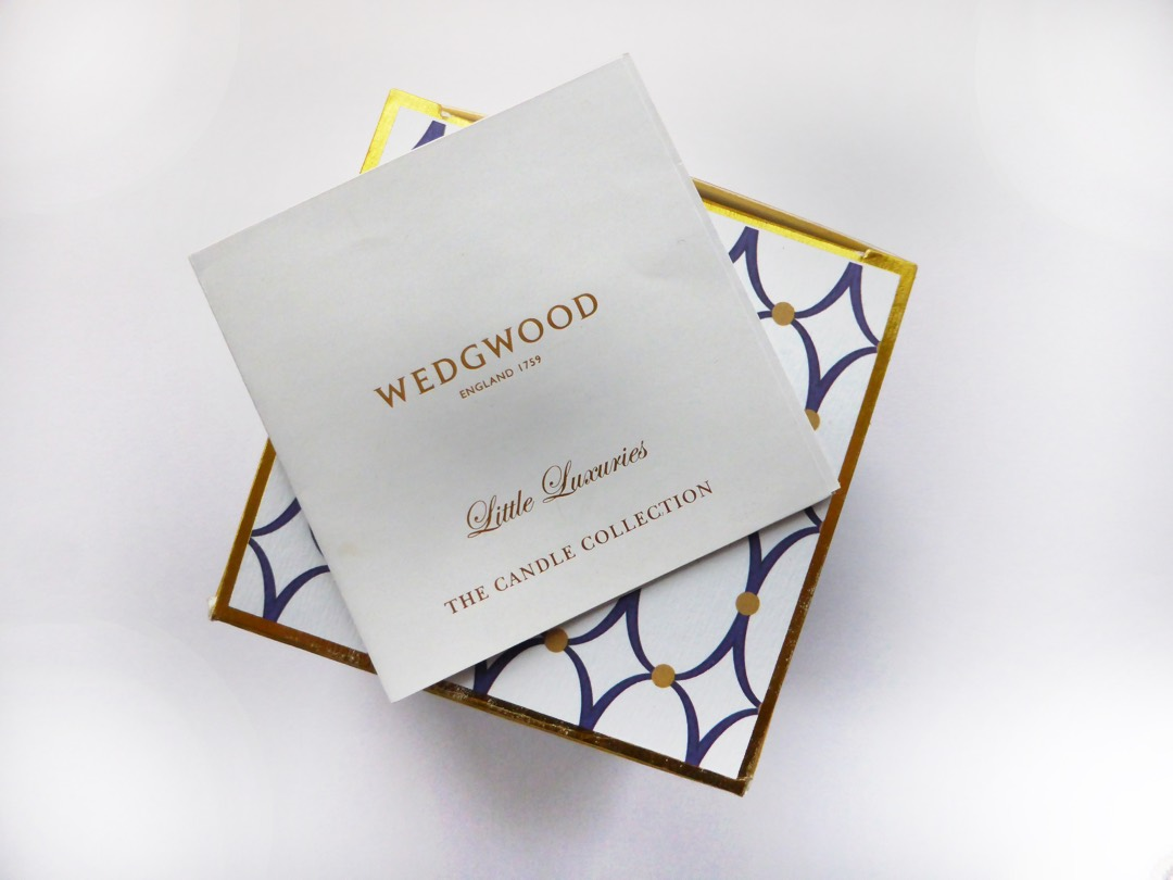 Little Luxuries Wedgwood Candles