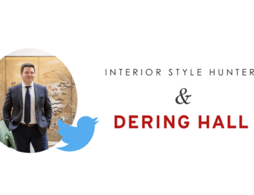 Dering Hall Interior Style Hunter Twitter Chat
