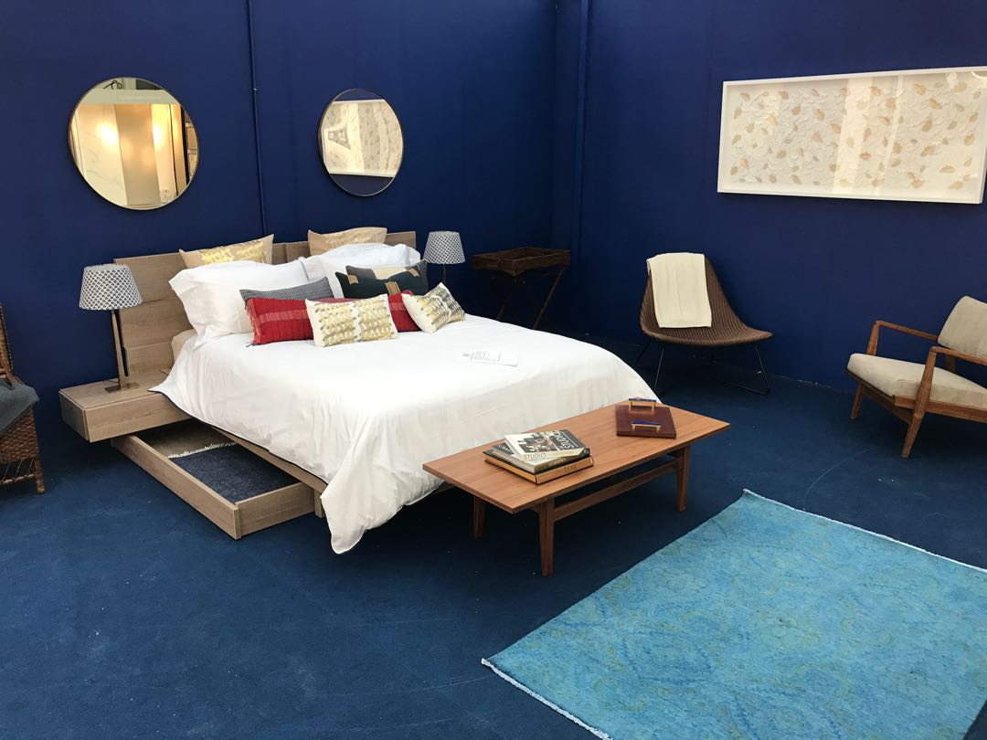 Living in Blue, The Interior Style Hunter Roomset at the House and Garden Festival