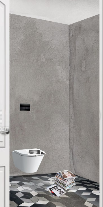 Entrance focus point - toilet&stuff @interiortastic