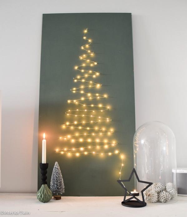 kerstboom van lichtjes