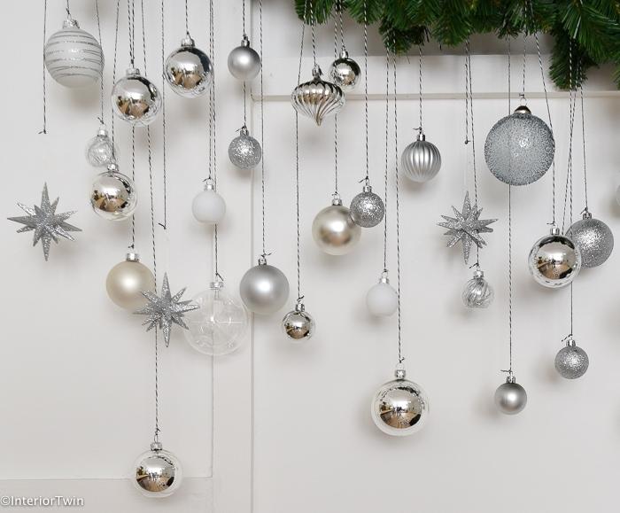 verschillende kerstballen