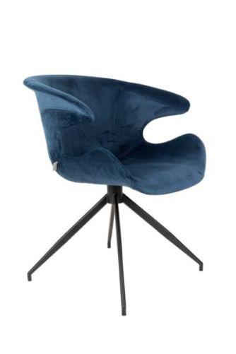 Zuiver - stoel mia Blauw