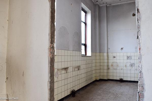 oude badkamer kazerne